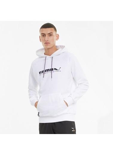 Puma Erkek Beyaz International Sweatshirt 599799.002 Beyaz